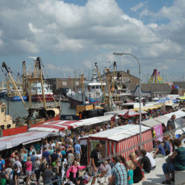 The Visserijfeesten (fishing festivals) in Breskens: large party filled with fish and entertainment.
